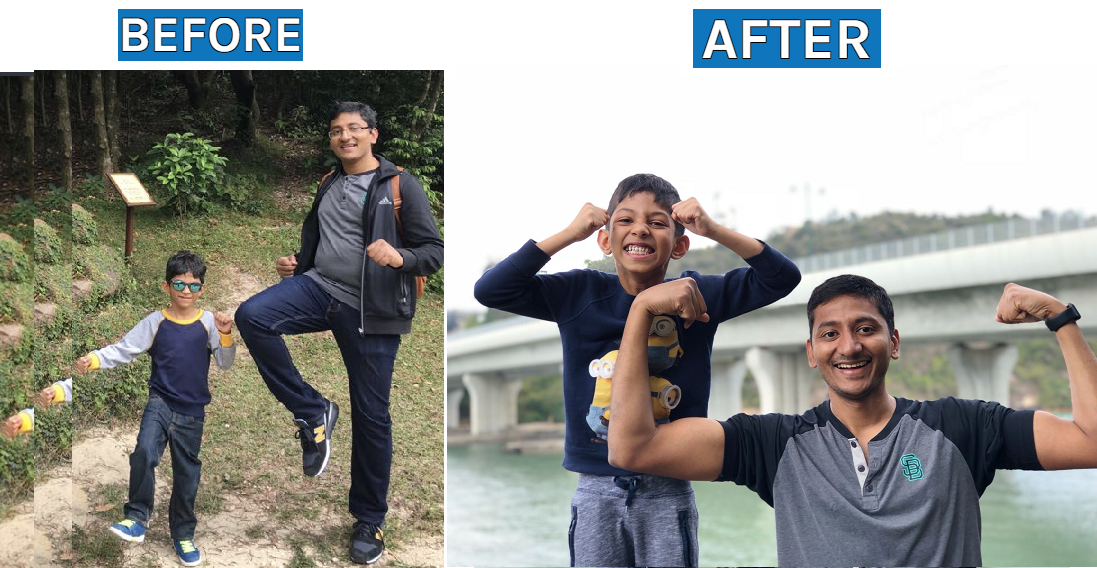 fitness in motion Transformation